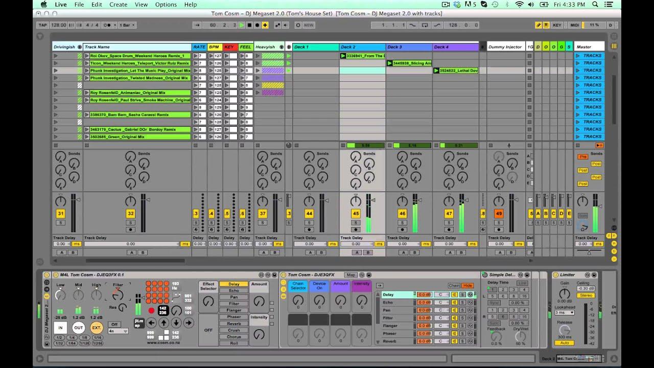 Ableton Live программа для диджея