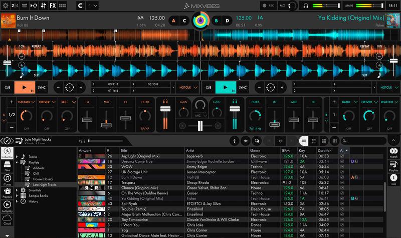 Mixvibes программа для диджея