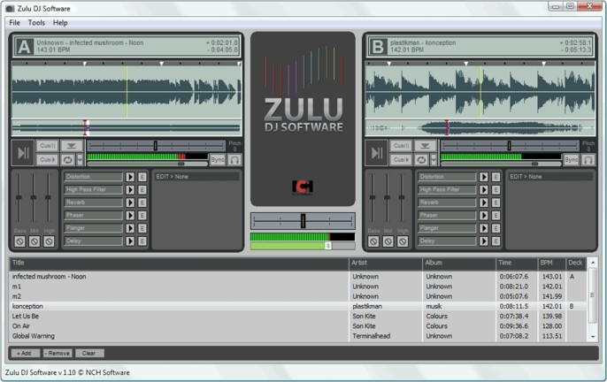 Zulu dj программа для диджея